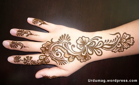 Arabic Mehndi Designs | Urdu Magazine - Mehndi Designs - Arabic Mehndi