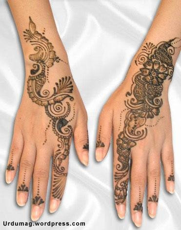 Designs Of Hina  Urdu Magazine  Mehndi Designs  Arabic