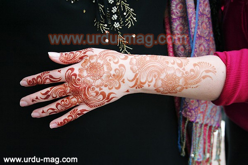 Mehndi Hands Poetry : Lines mehndi shayari in urdu poetry images