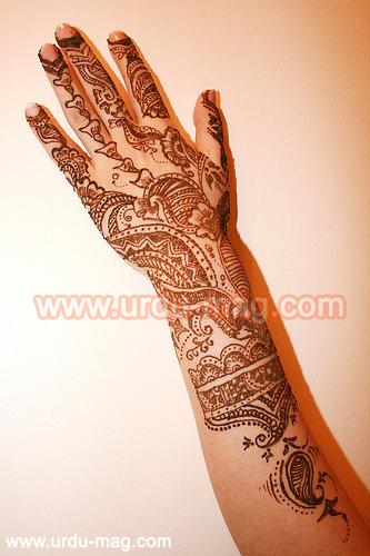More New Arabic Mehndi Designs