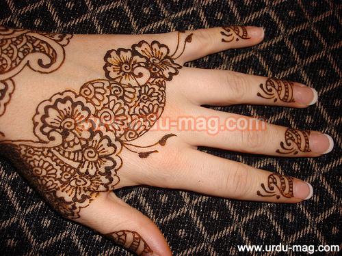 Mehndi Hands Poetry : Arabic mehndi designs for hands easyday