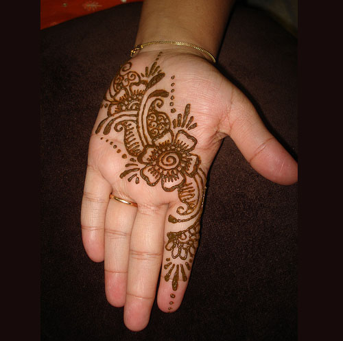 Pakistan Cricket Player Easy Arabic Henna Designs
